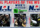 NAL Players of the Week: Week 2