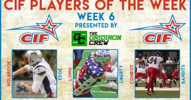 CIF Players of the Week: Week 6