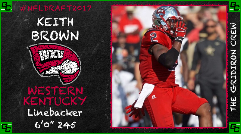 NFL Draft 2017 Prospect: Keith Brown