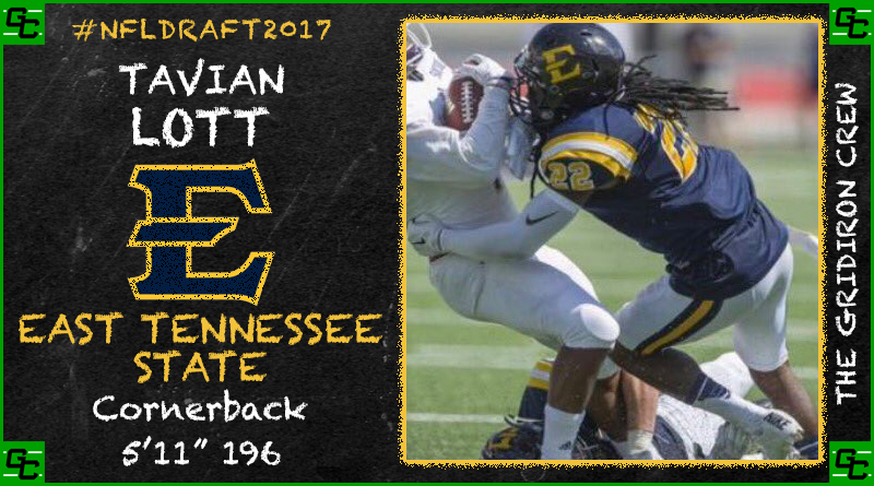 NFL Draft 2017 Prospect: Tavian Lott