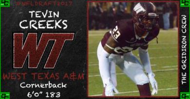 NFL Draft 2017 Prospect: Tevin Creeks