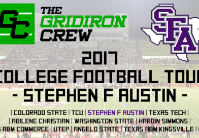 2017 College Football Tour: Stephen F Austin