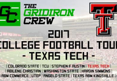 2017 College Football Tour: Texas Tech