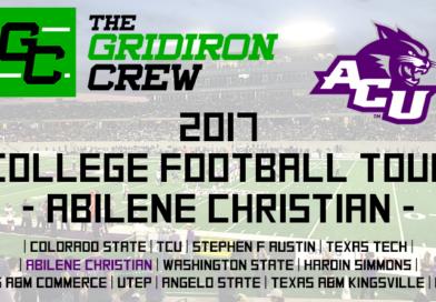 2017 College Football Tour: Abilene Christian