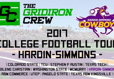 2017 College Football Tour: Hardin-Simmons