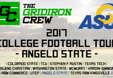 2017 College Football Tour: Angelo State
