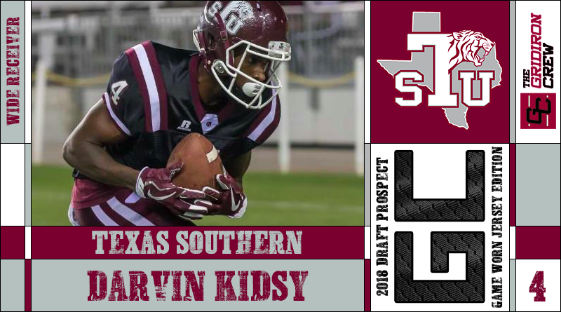 the best attitude c1d14 899d7 Darvin Kidsy: 2018 Draft Prospect Interview – The Gridiron Crew