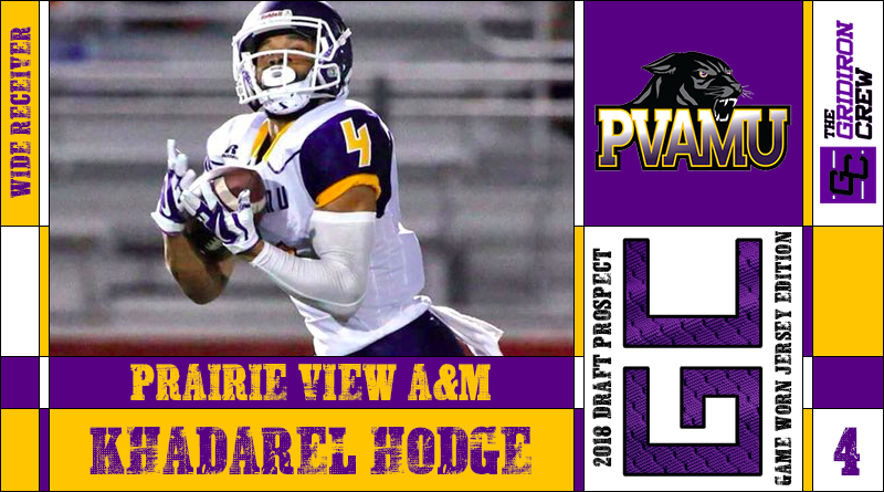 low priced a611d 35e8c KhaDarel Hodge: 2018 Draft Prospect Interview – The Gridiron ...