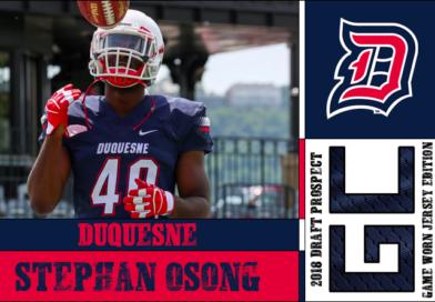 Stephan Osong: 2018 Draft Prospect Interview