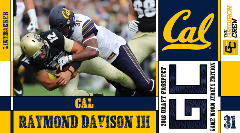 low priced 88410 cd59c Raymond Davison III: 2018 Draft Prospect Interview – The ...
