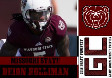 Deion Holliman: 2018 Draft Prospect Interview