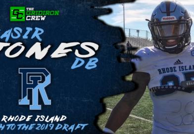 Nasir Jones: 2019 Draft Prospect Interview