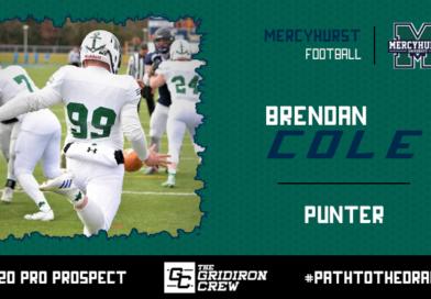 Brendan Cole: 2020 Pro Prospect Interview