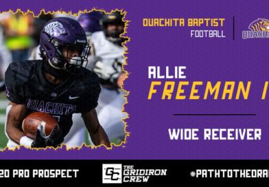 Allie Freeman IV: 2020 Pro Prospect Interview