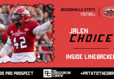 Jalen Choice: 2020 Pro Prospect Interview