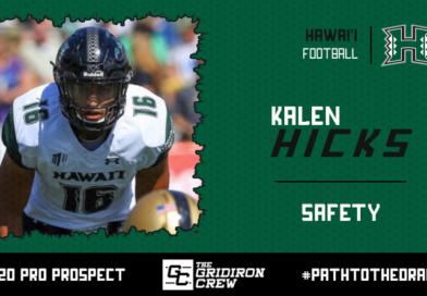 Kalen Hicks: 2020 Pro Prospect Interview