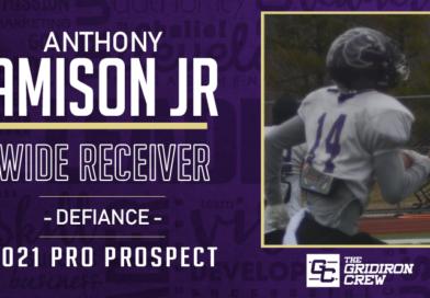 Anthony Amison Jr: 2021 Pro Prospect Interview