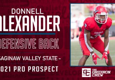 Donnell Alexander: 2021 Pro Prospect Interview